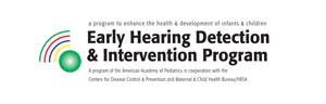 AAP Early Hearing Detection and Intervention Program logo