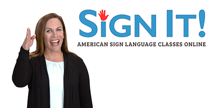 SignIt! American Sign Language Classes Online | Rachel Coleman signing