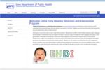 Iowa EHDI Program Website, 2016